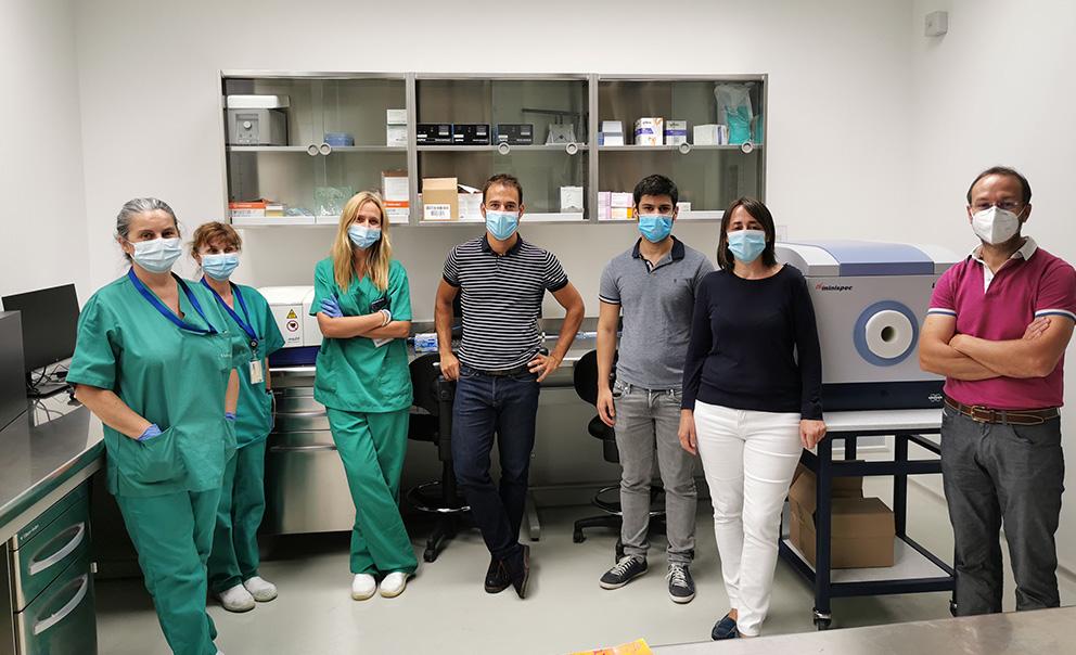 Implantamos las solución minispec LF110 en los laboratorios CINBIO para la investigación con animales vivos
