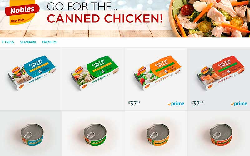 Go for the... canned chicken!