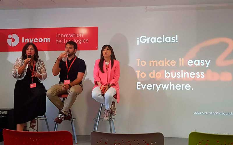 Estela Ye, directora de Aliexpress España visita Inycom