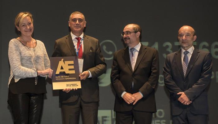 En 2015 INYCOM obtiene el Sello de Oro a la Excelencia Empresarial +500