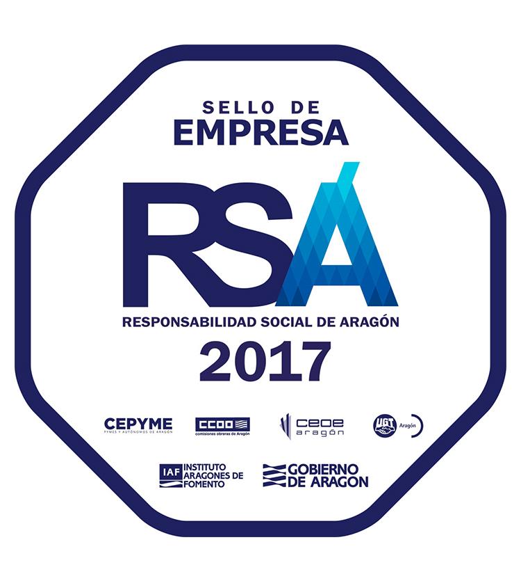 Sello Empresa Responsabilidad Social de Aragón (RSA)