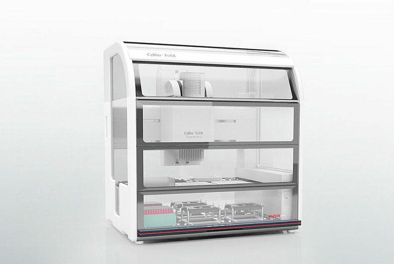 Sistema Automático de Pipeteo CyBio FeliX
