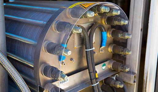 Integración Grid de electrolizadores alcalinos de alta presión para aplicaciones de energía