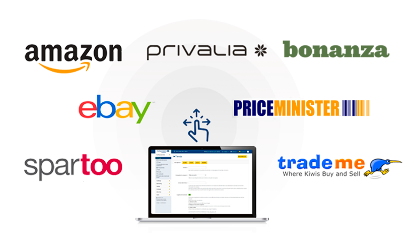 Vende y exporta en varios marketplaces con DIGITALINTER®COMANDIA